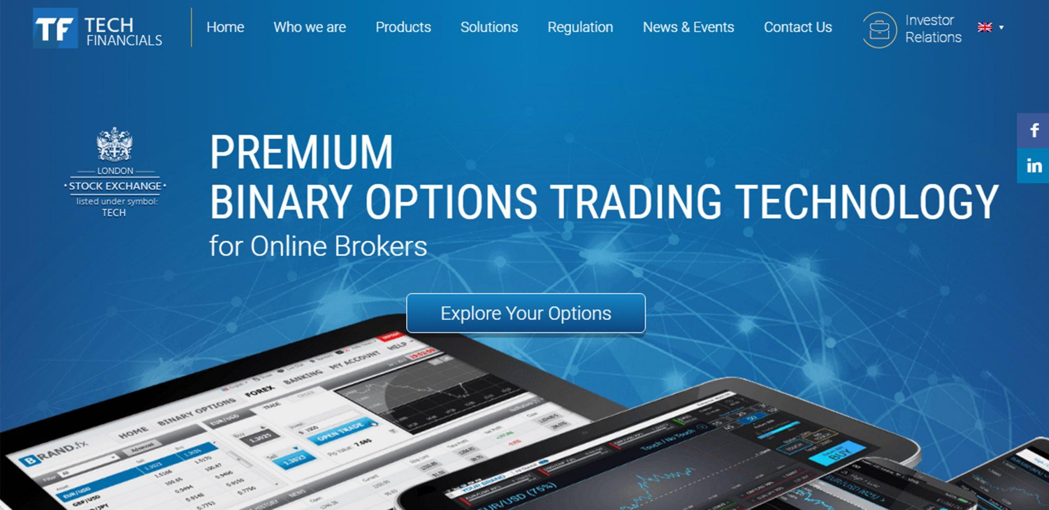 Сайт TechFinancials