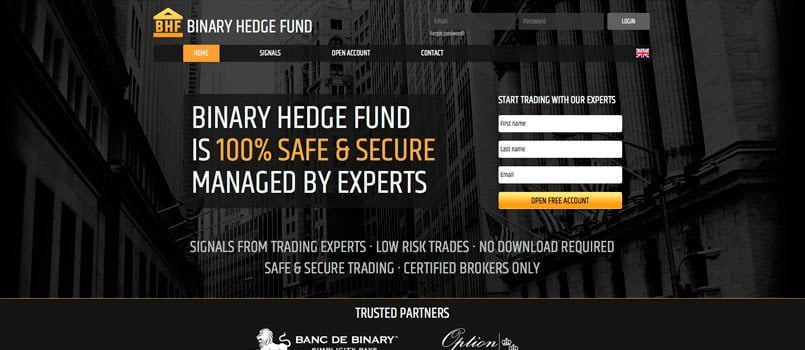 Binaryhedgefund - Обзор