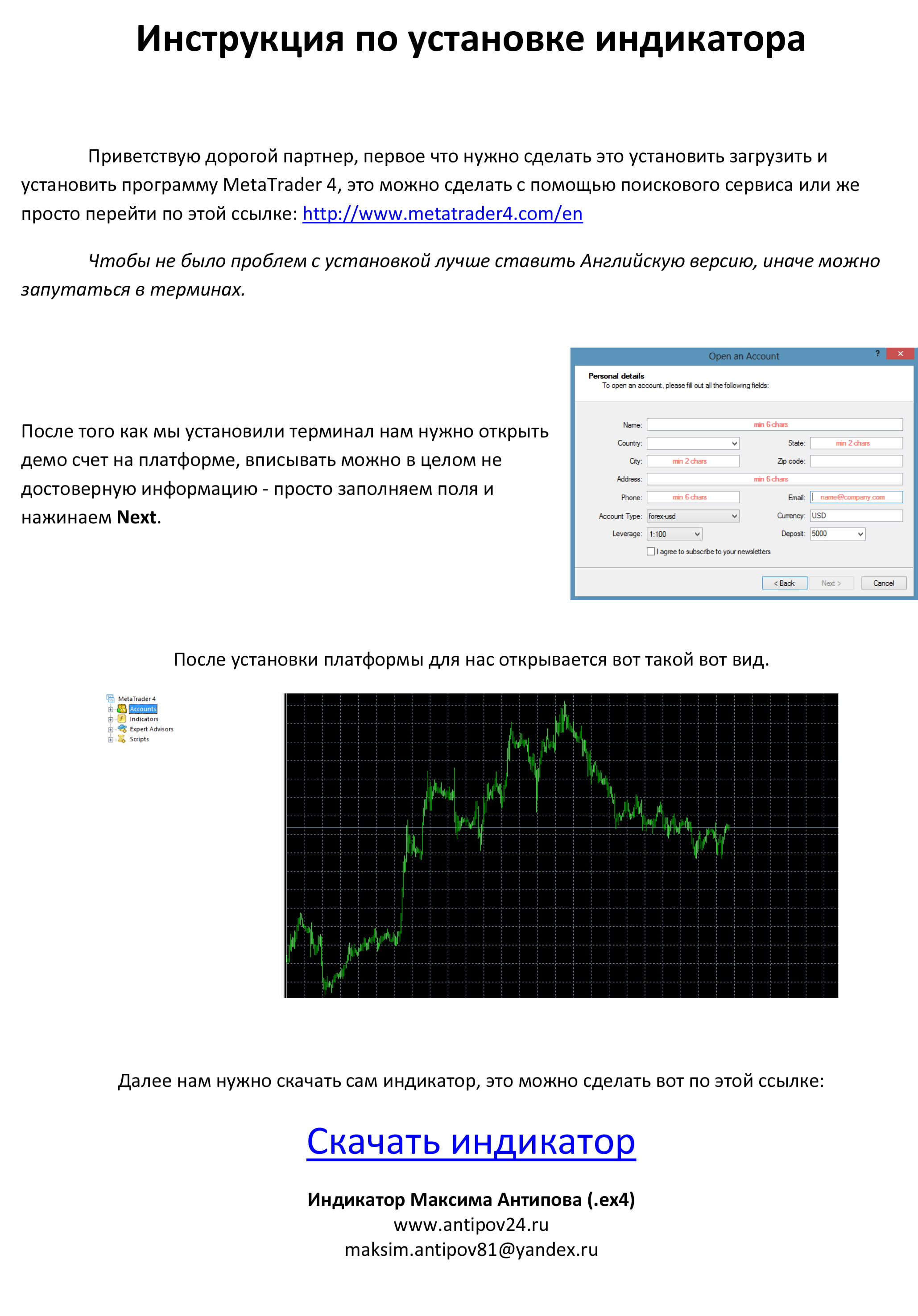 Индикатор м1 для бинарных опционов