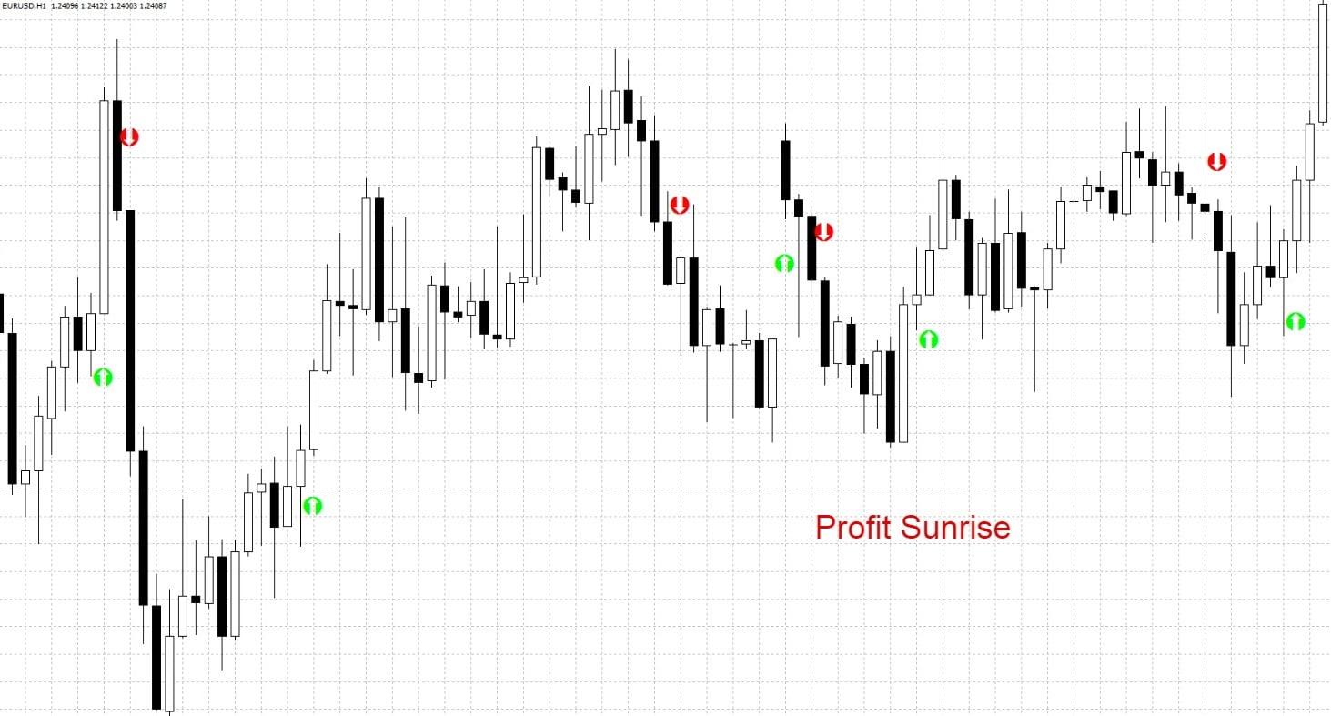 Стрелочный указатель Profit Sunrise