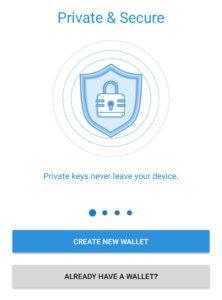 Как создать кошелек Trust Wallet