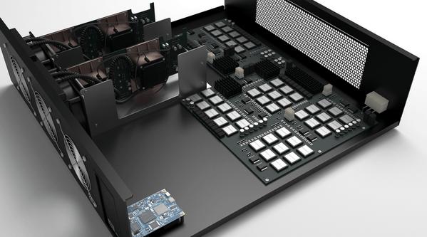 Внутреннее устройство ASIC-майнера
