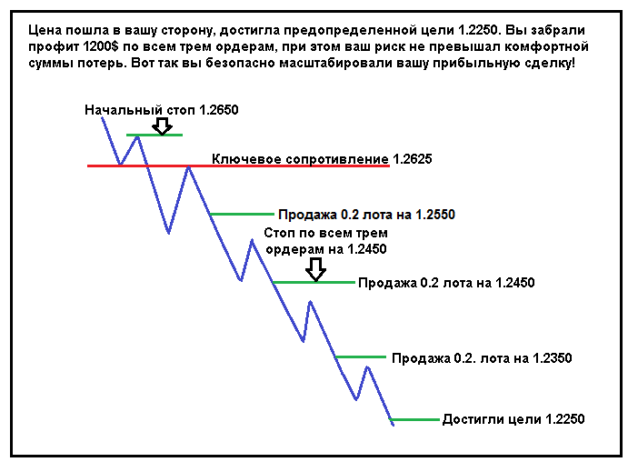 Стратегия «Пирамидинг» на Форекс