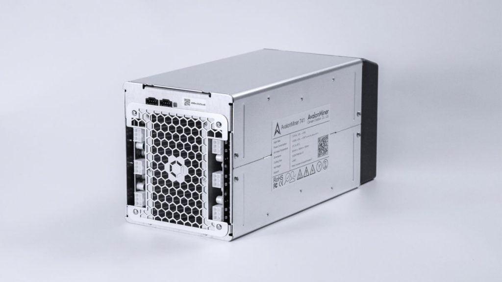 ASIC-майнер Canaan AvalonMiner 741
