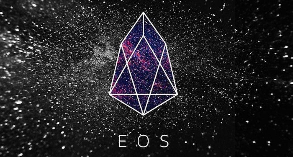 Логотип криптовалюты EOS