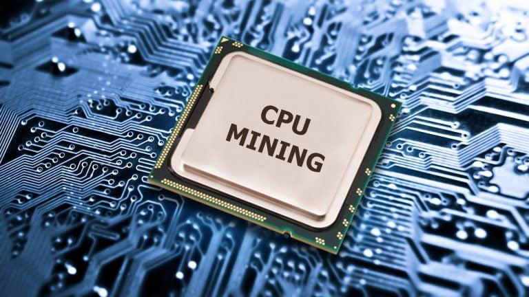 Система CPU-майнинга