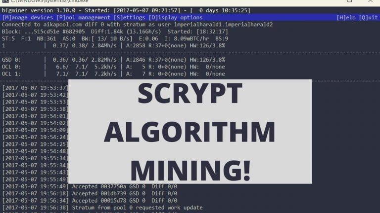 Scrypt-алгоритм