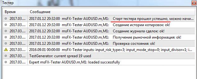 Тестирование программой функционала