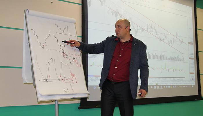 Очное обучение торговле на рынке