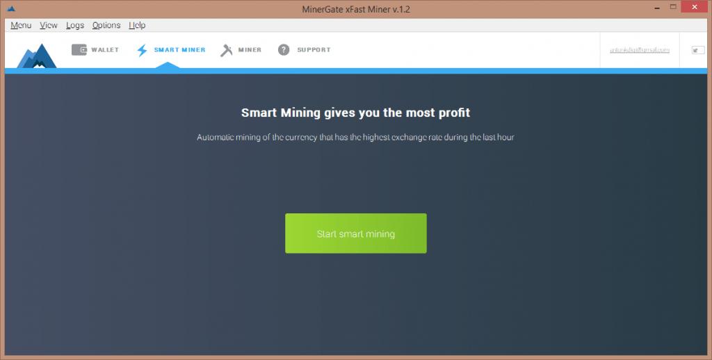 Раздел умного майнинга «Smart Minig»