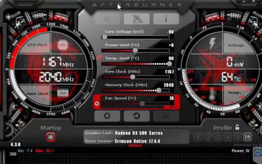 Разгон видеокарты AMD Radeon